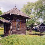 Музей деревянного зодчества - город Мышкин